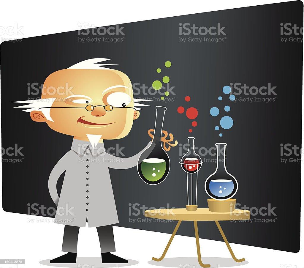 Scientist royalty-free stock vector art