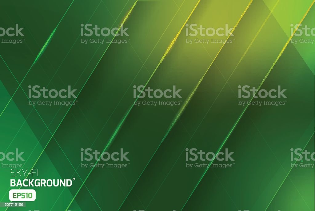 Sci-fi vector abstract background vector art illustration