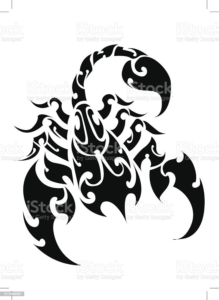 Scorpion Vector - 02 royalty-free stock vector art