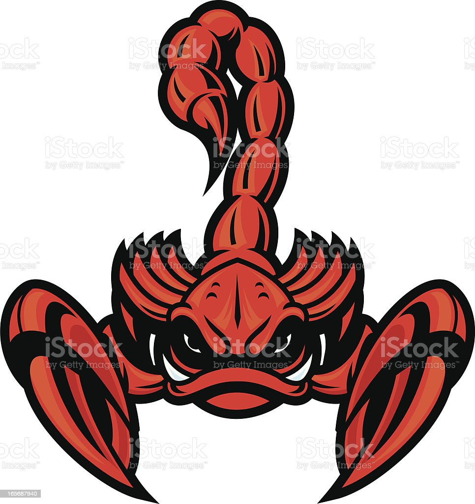 Scorpion royalty-free stock vector art