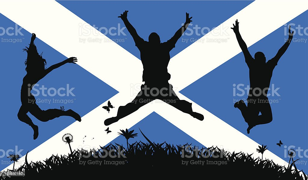 Scottish Pride royalty-free stock vector art