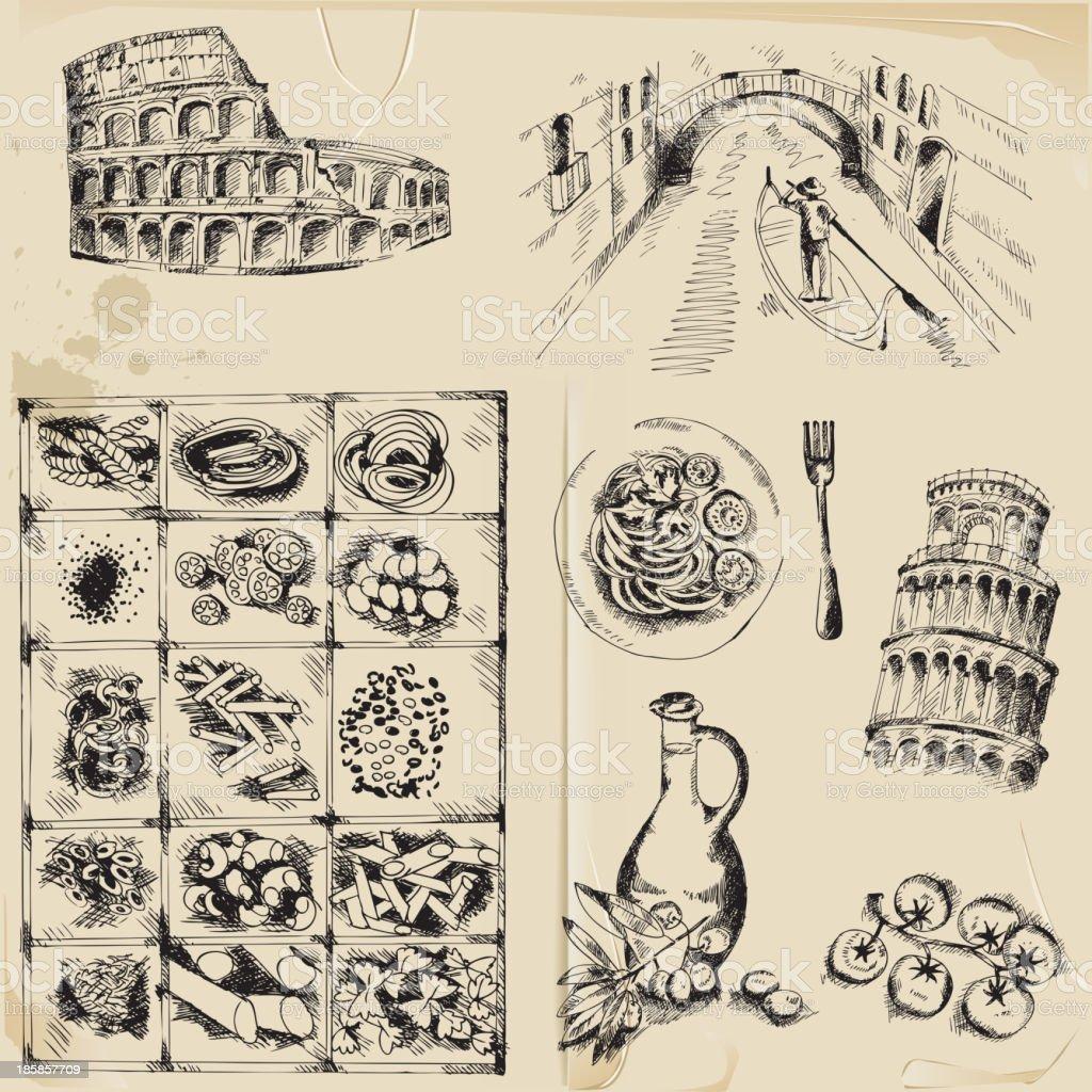 Scrapbook Design Elements royalty-free stock vector art