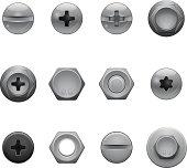 Screw Head Icons