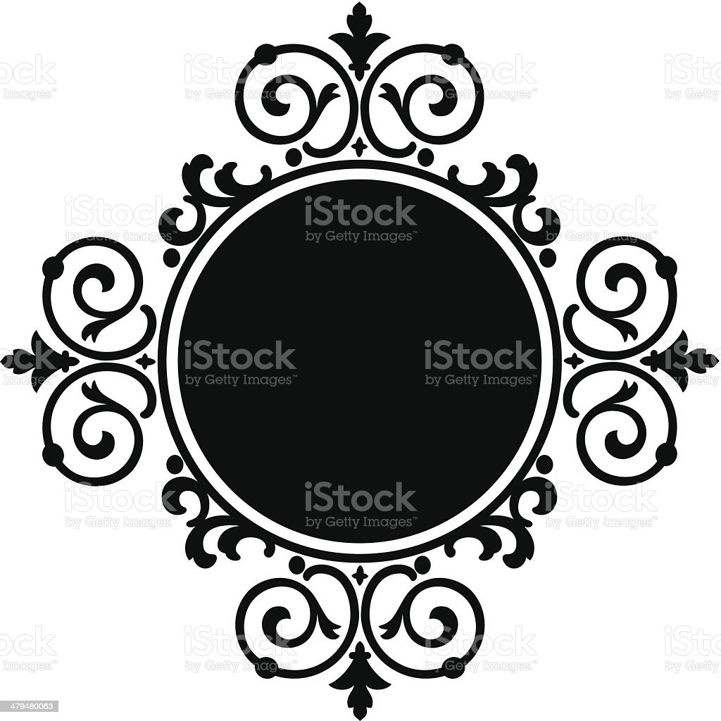 scroll 2d royalty-free stock vector art