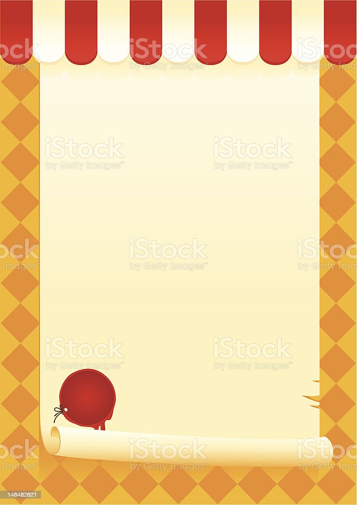 scroll and sealed royalty-free stock vector art