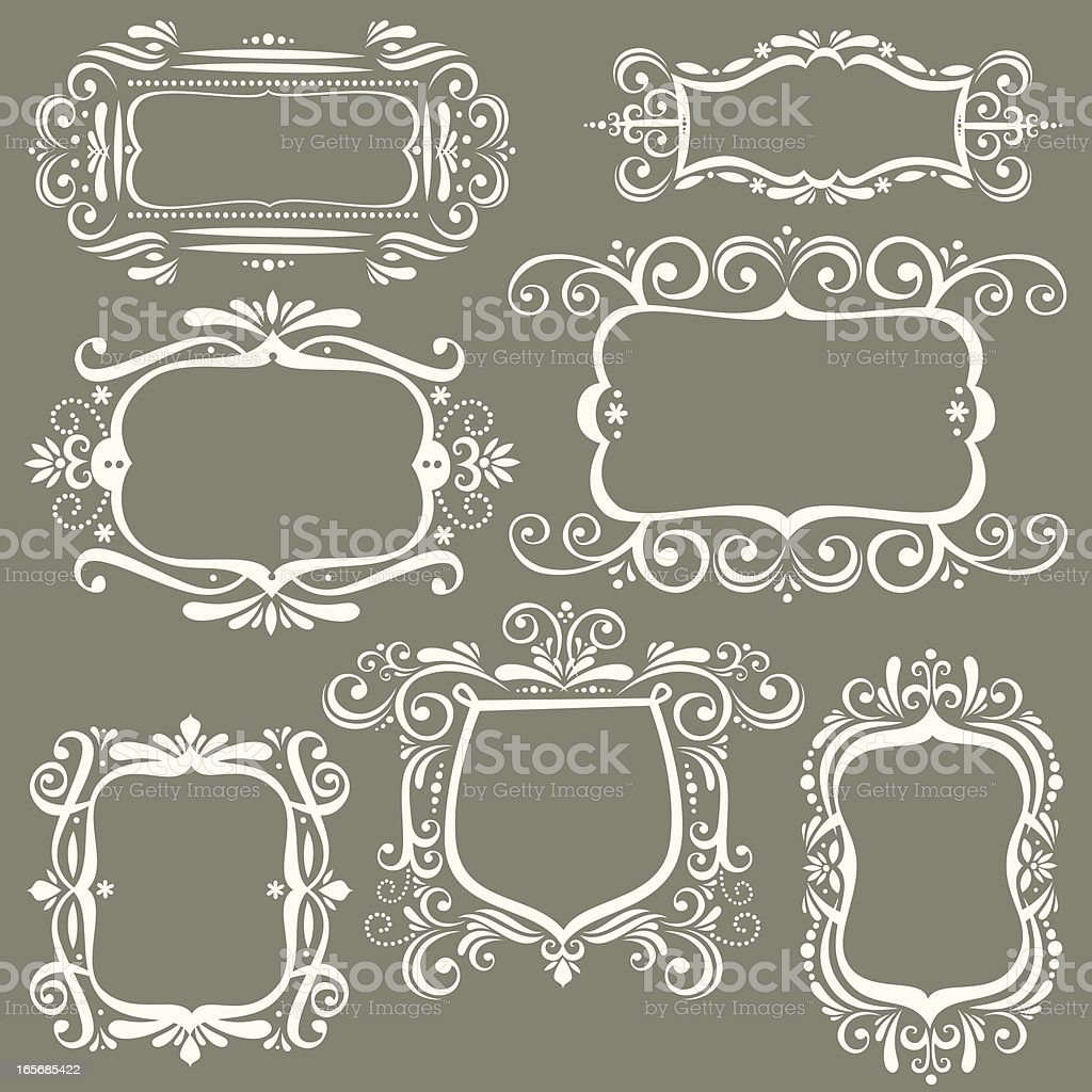 Scroll banners royalty-free stock vector art