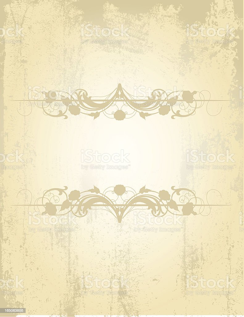 Scroll Grunge Background royalty-free stock vector art