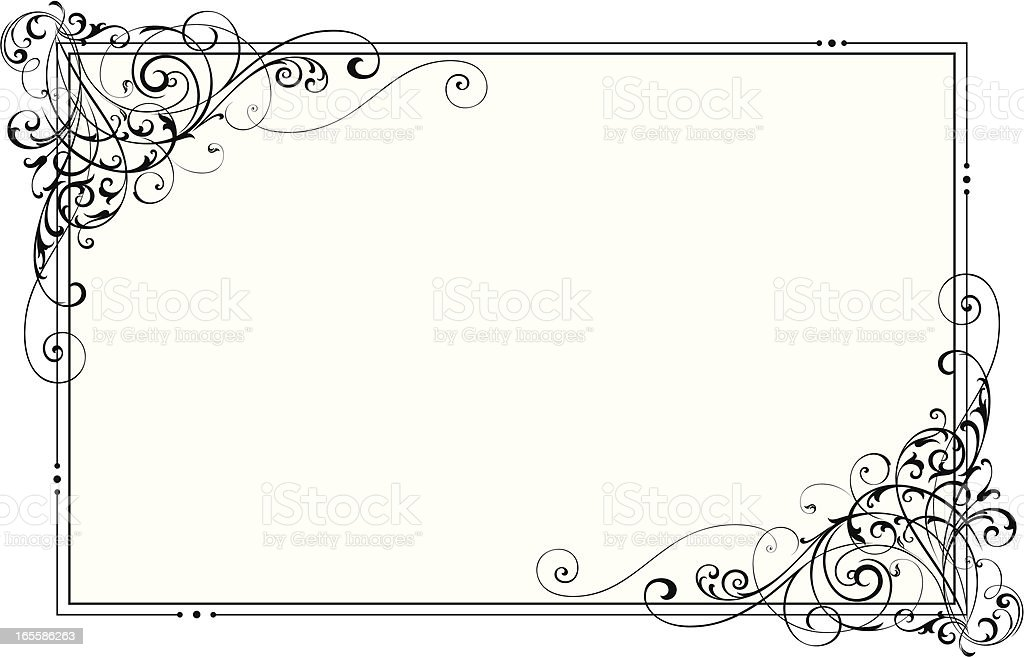 Scrolls Page vector art illustration