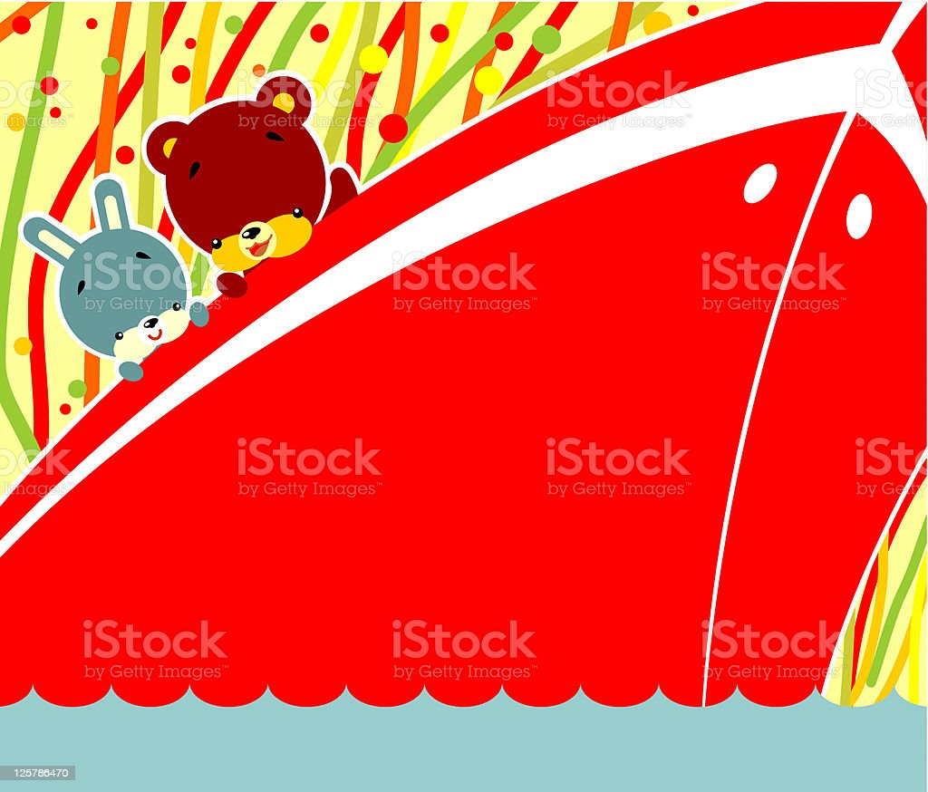 Sea travel royalty-free stock vector art