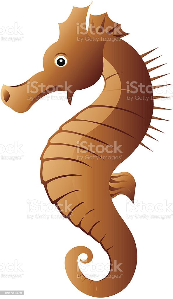 Seahorse royalty-free stock vector art