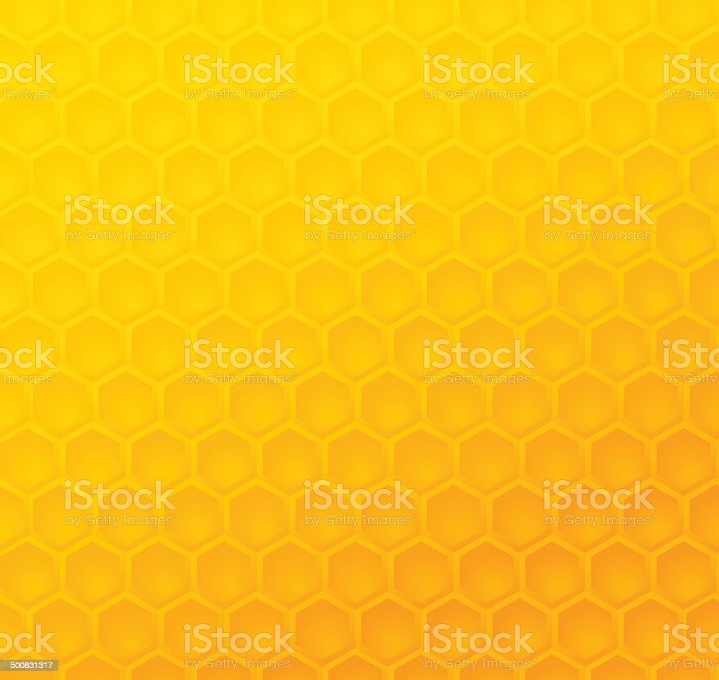 Seamless abstract honeycomb pattern royalty-free stock vector art