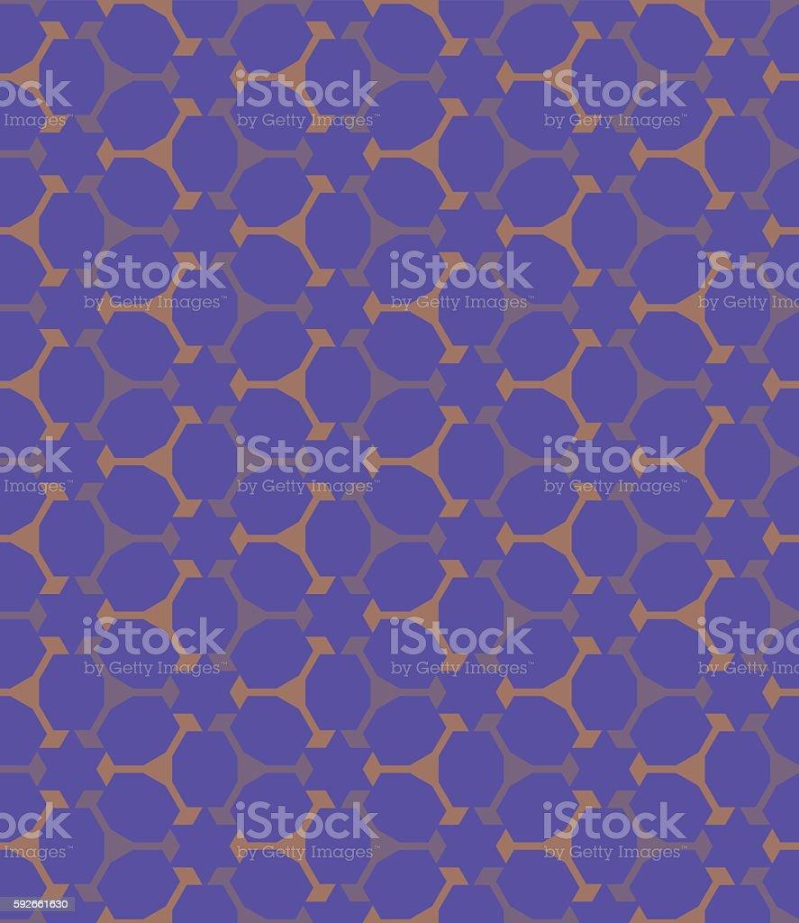 Seamless Abstract Pattern vector art illustration