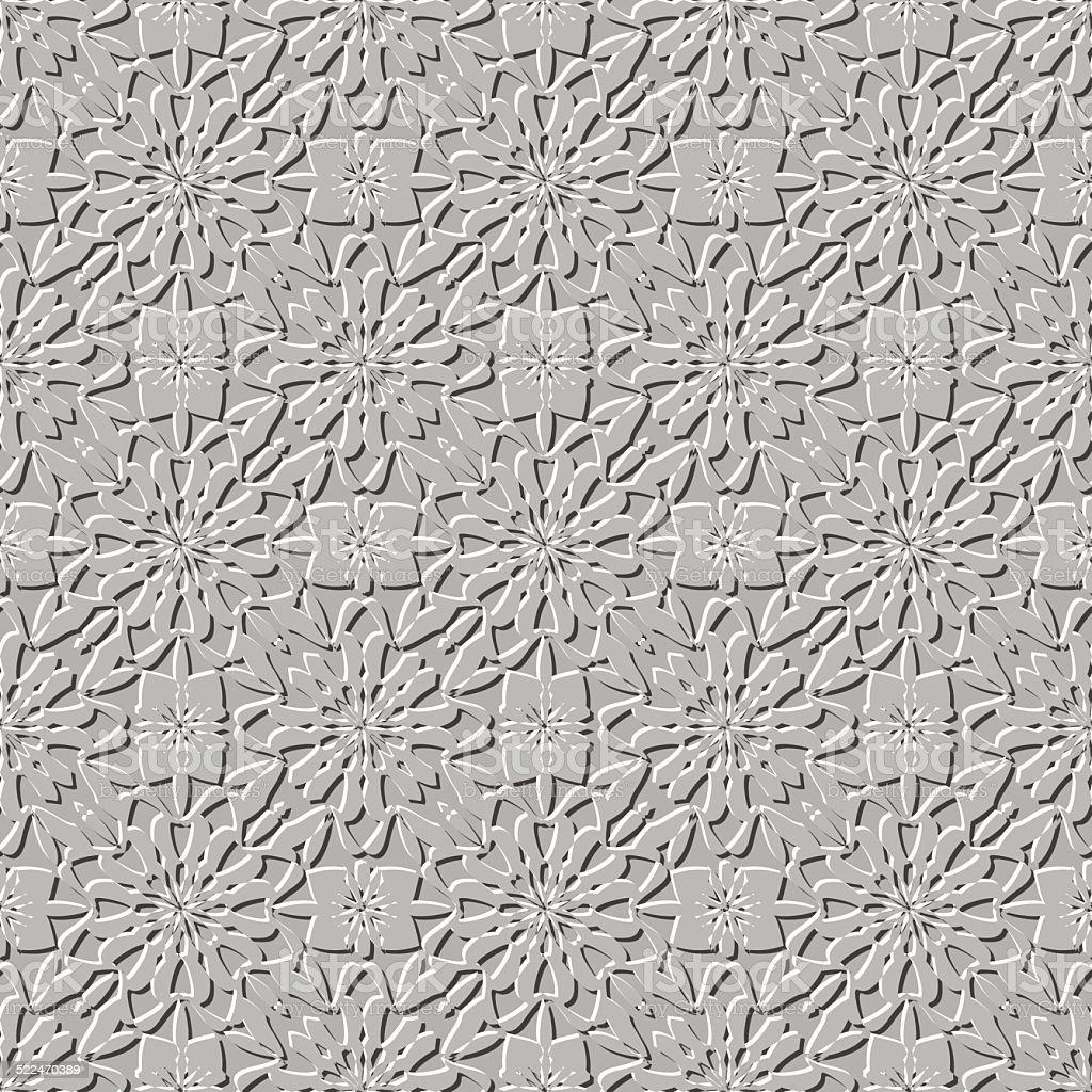 seamless arab stone arabesque background vector art illustration