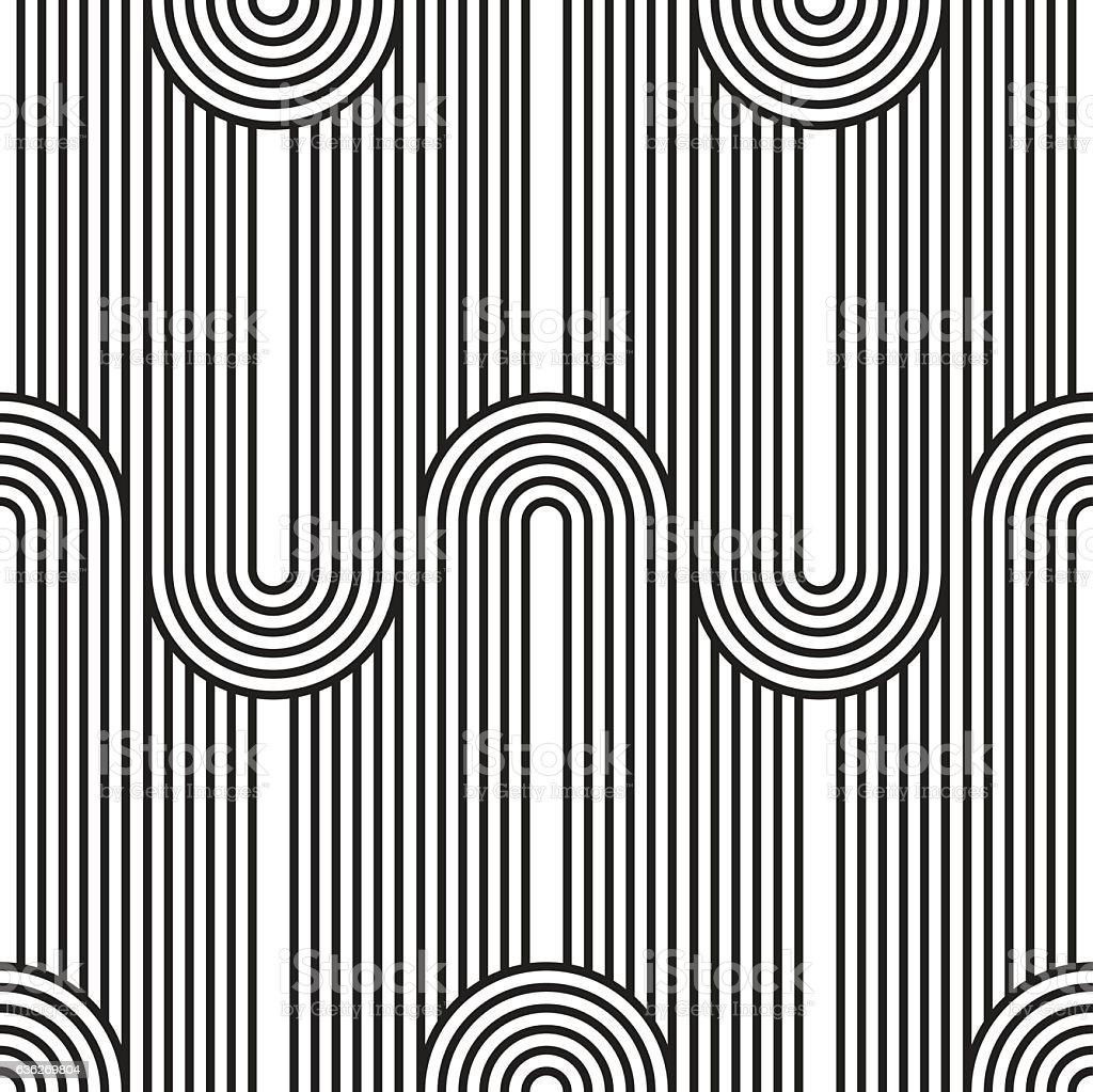 Seamless Art Deco Background Texture Pattern stock vector