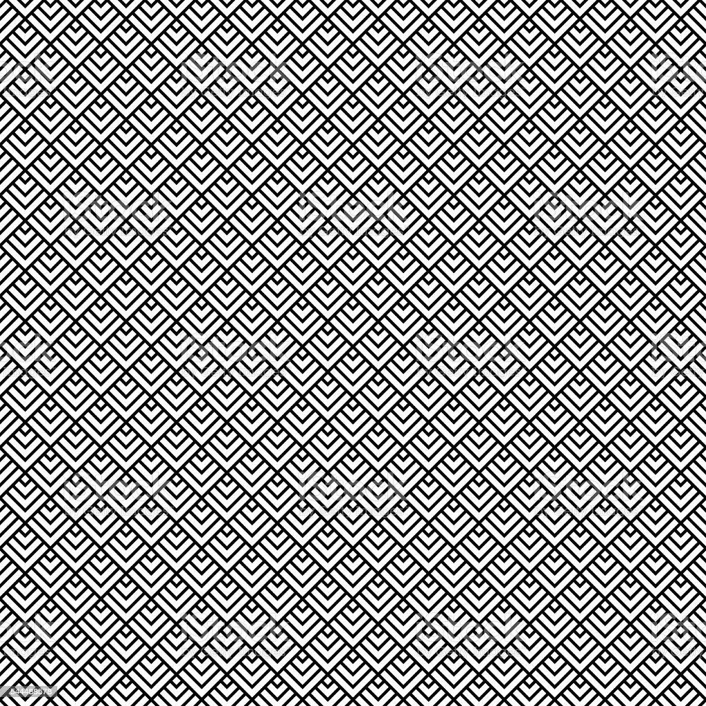 Seamless Art Deco Pattern Background vector art illustration