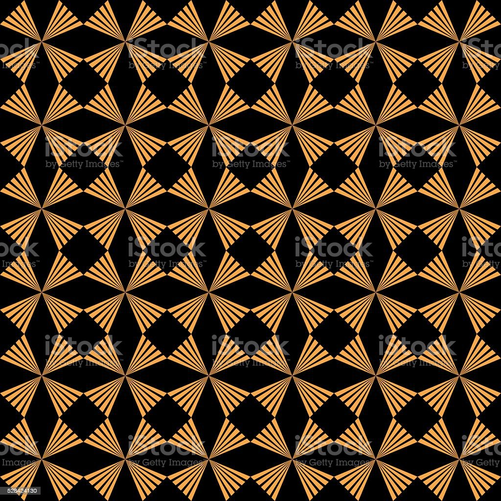 Seamless Art Deco Pattern vector art illustration