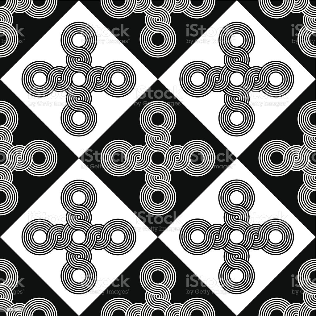 Seamless Art Deco Texture Background Pattern royalty-free stock vector art