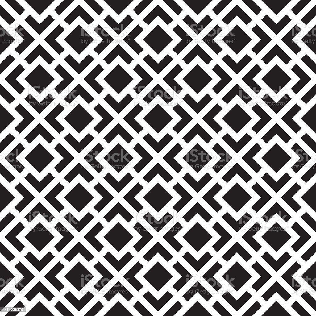 Seamless Art Deco Texture Background vector art illustration
