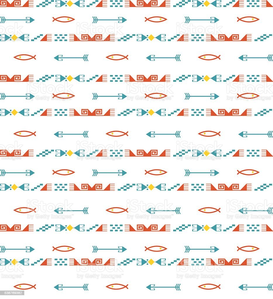 seamless asian background vector art illustration