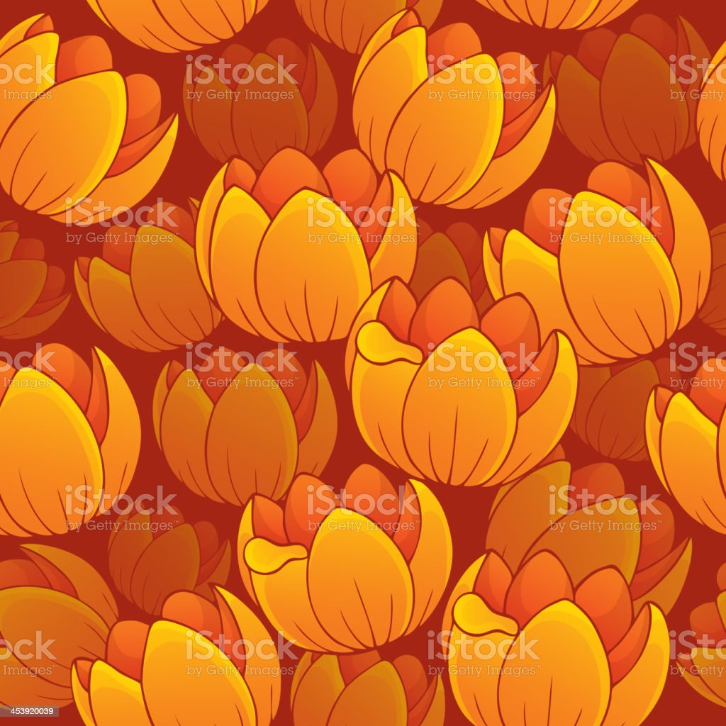 Seamless background flowery topic 1 royalty-free stock vector art