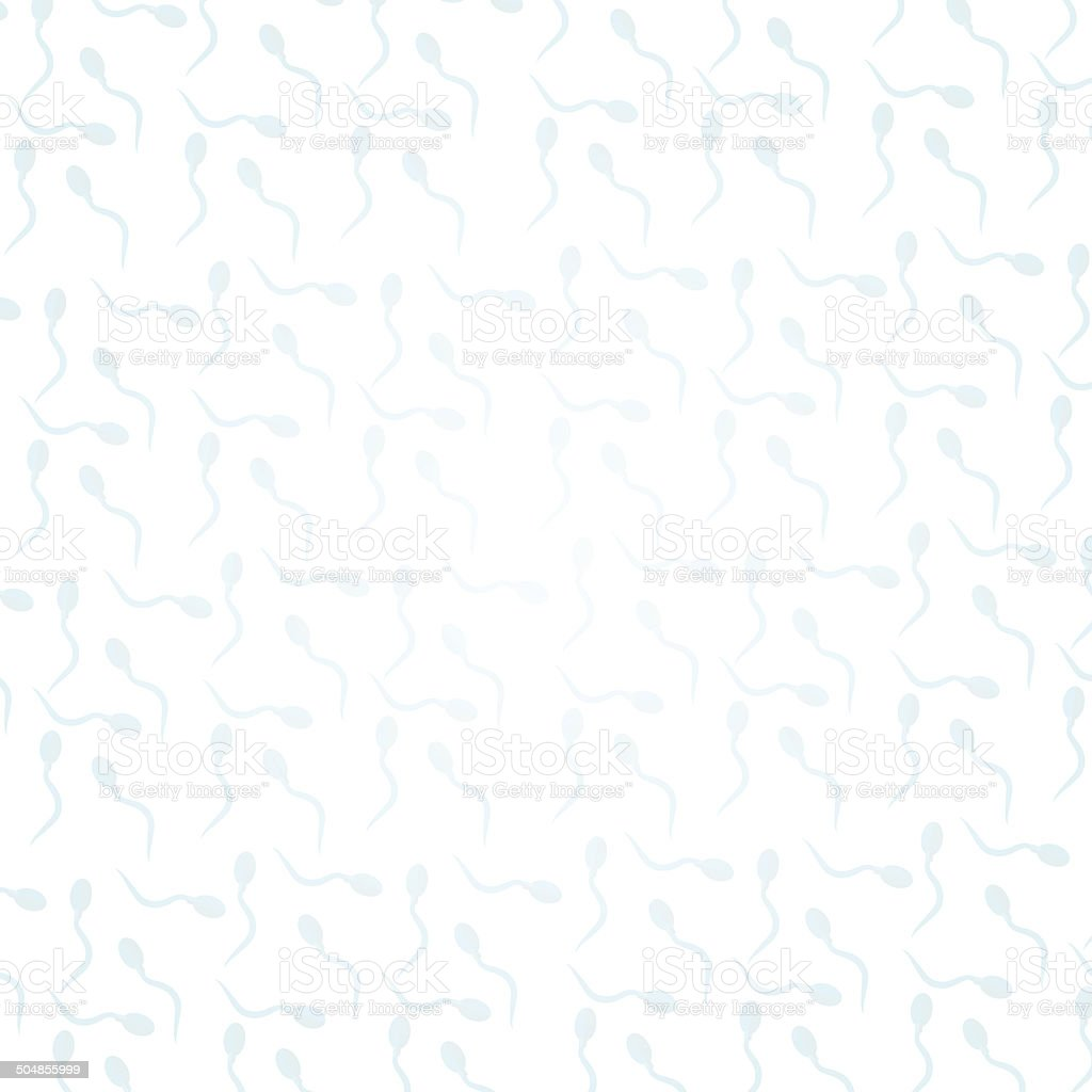 Seamless background for sperm royalty-free stock vector art