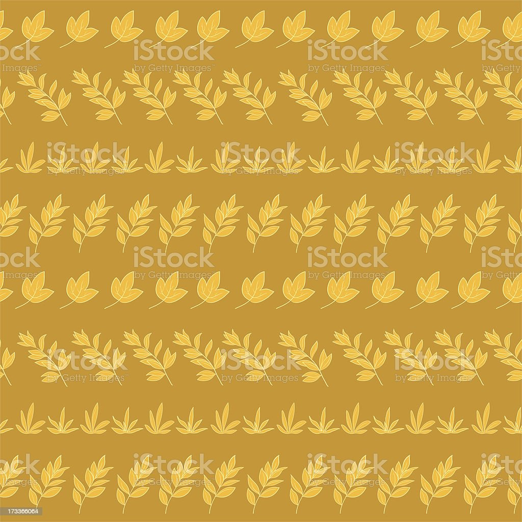Seamless background, leaves royalty-free stock vector art