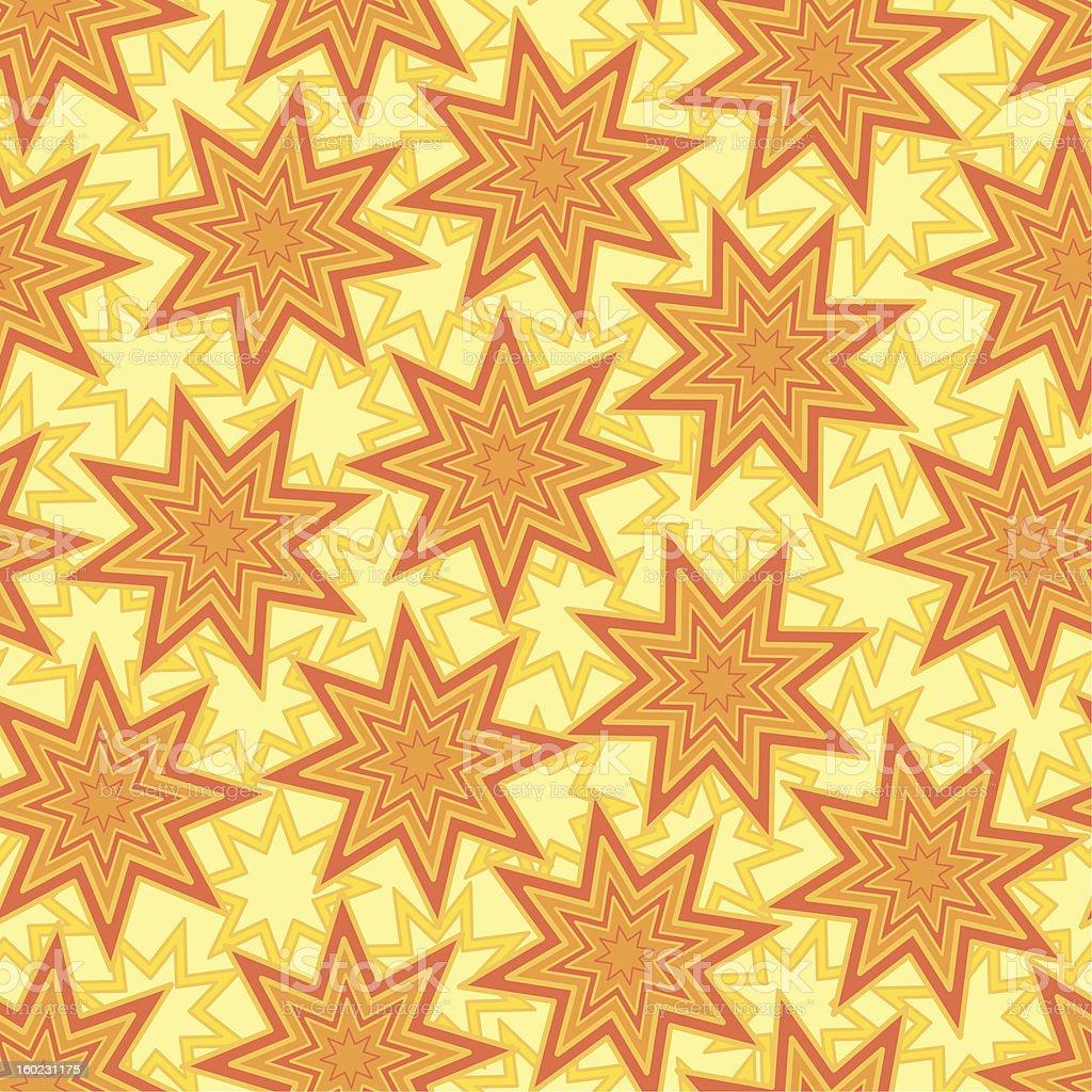 Seamless background, stars royalty-free stock vector art