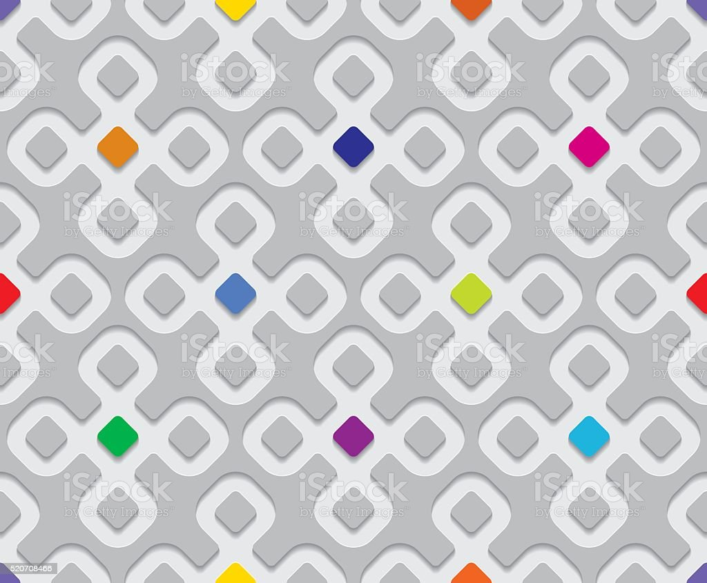 Seamless Background Texture Blots vector art illustration