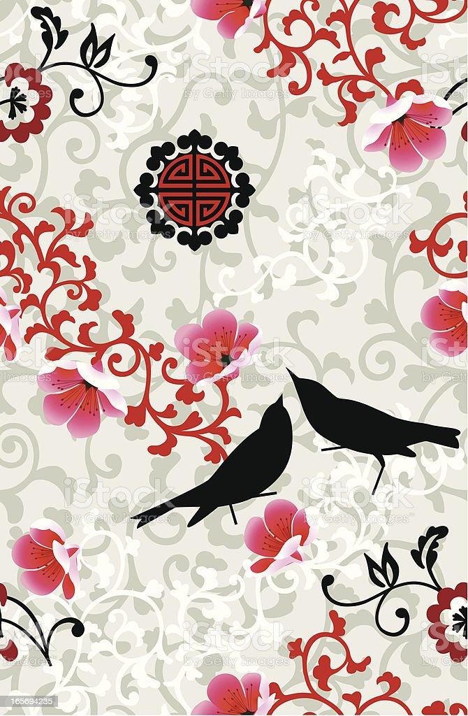 Seamless Background vector art illustration