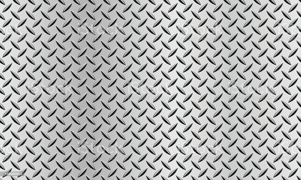 Seamless background with a diamond plate texture royalty-free stock vector art