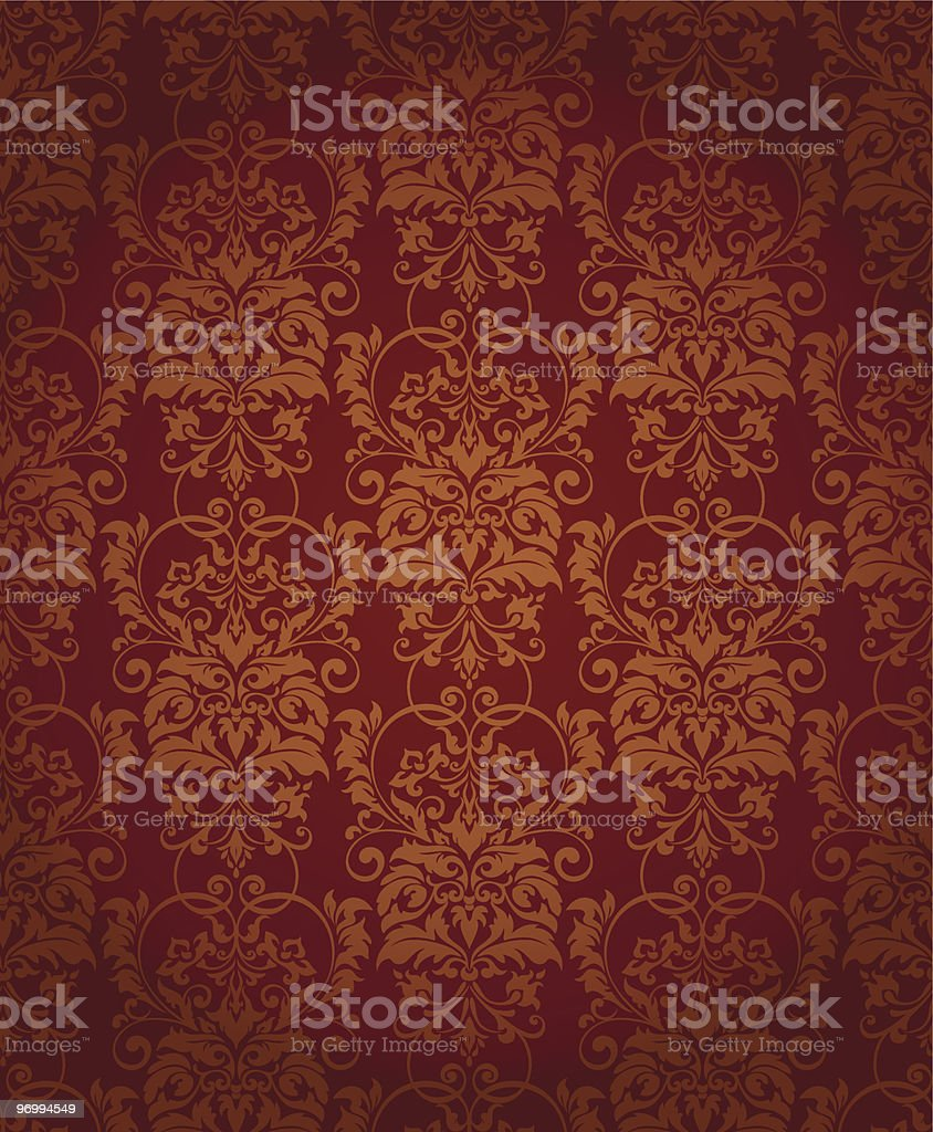 Seamless background with decoration elements royalty-free stock vector art