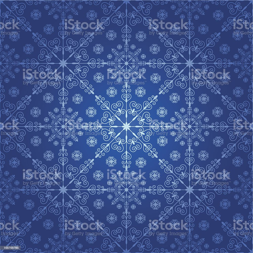 Seamless background with snowflakes. royalty-free stock vector art