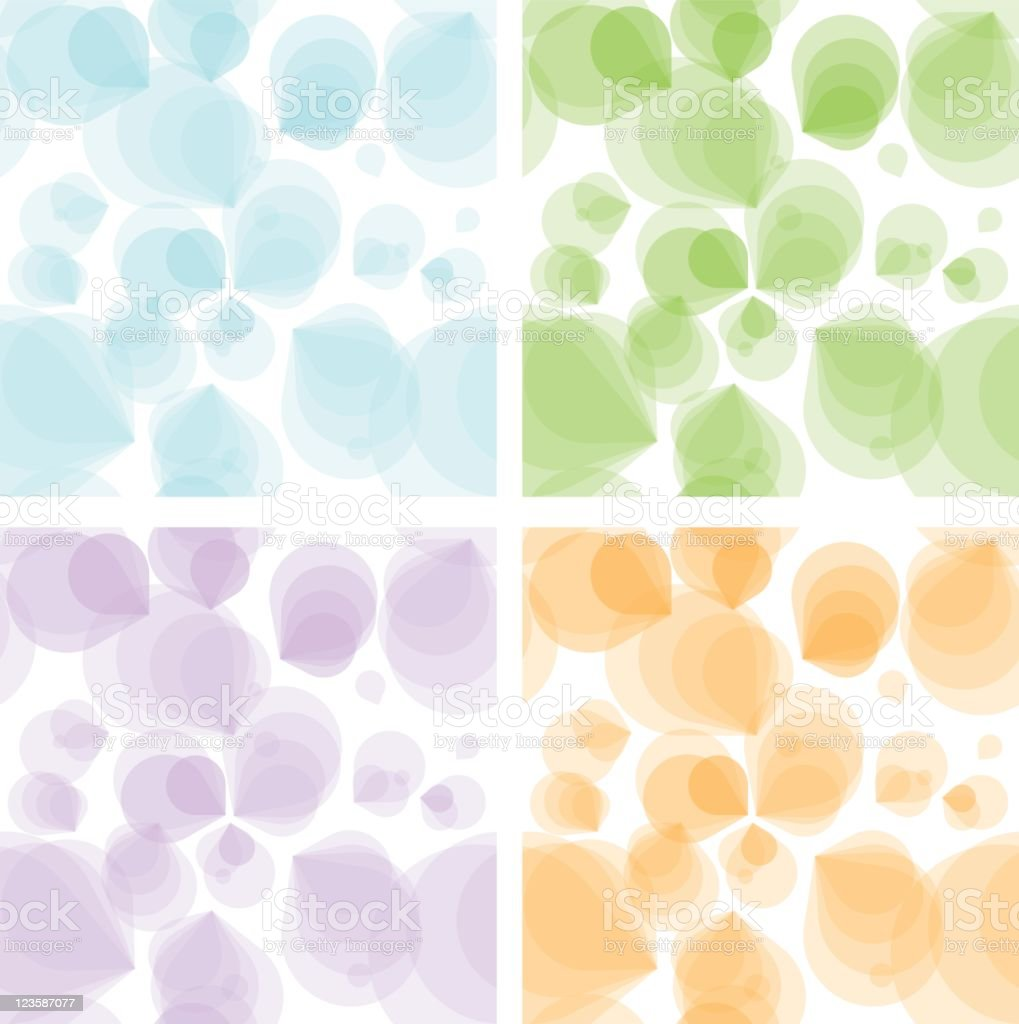 Seamless Backgrounds royalty-free stock vector art