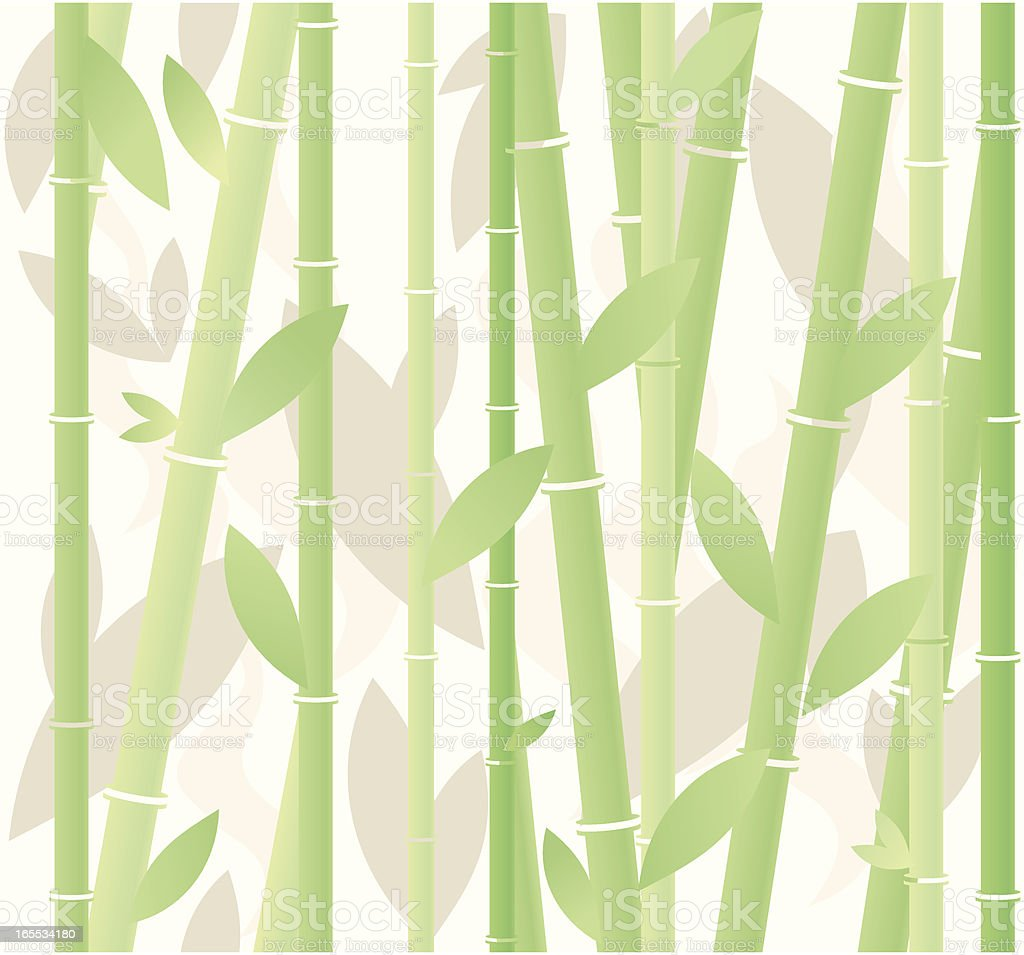 Seamless bamboo background royalty-free stock vector art