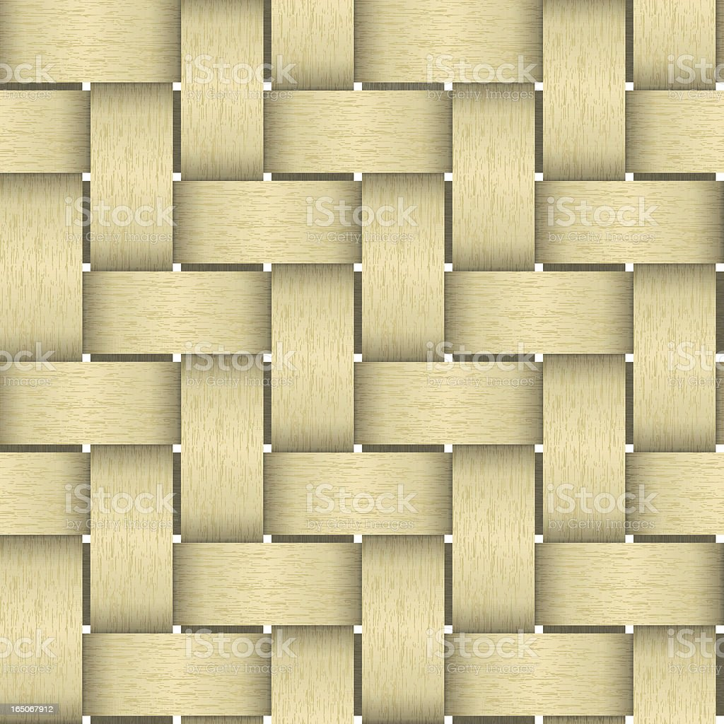 Seamless basket pattern royalty-free stock vector art