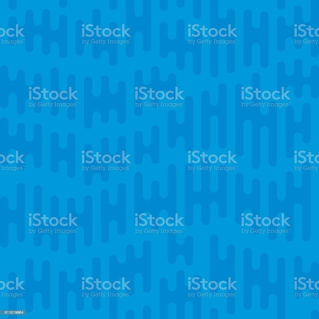 Seamless Blue Waterfall Background vector art illustration