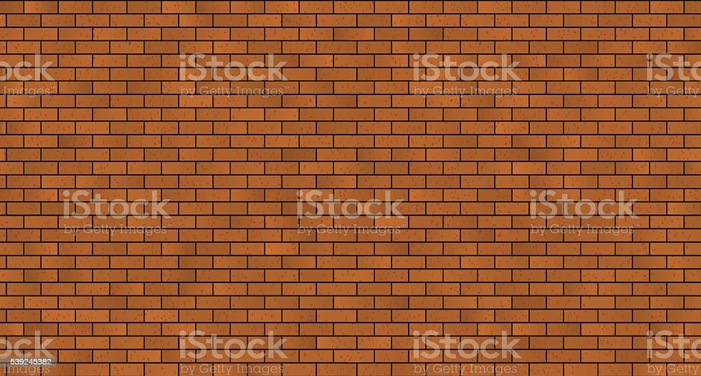 seamless brick masonry vector art illustration
