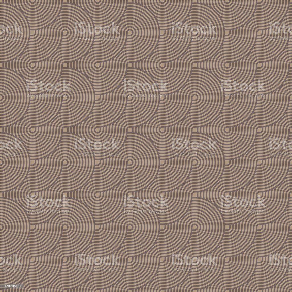seamless brown circles pattern royalty-free stock vector art