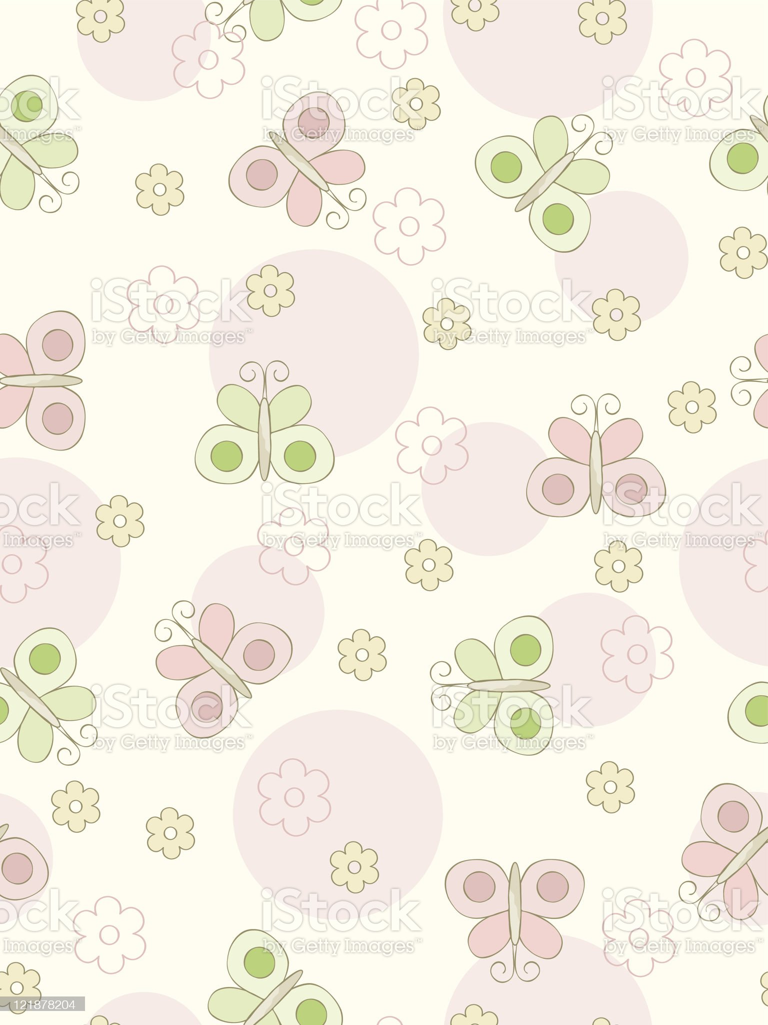 Seamless butterflies background. royalty-free stock vector art