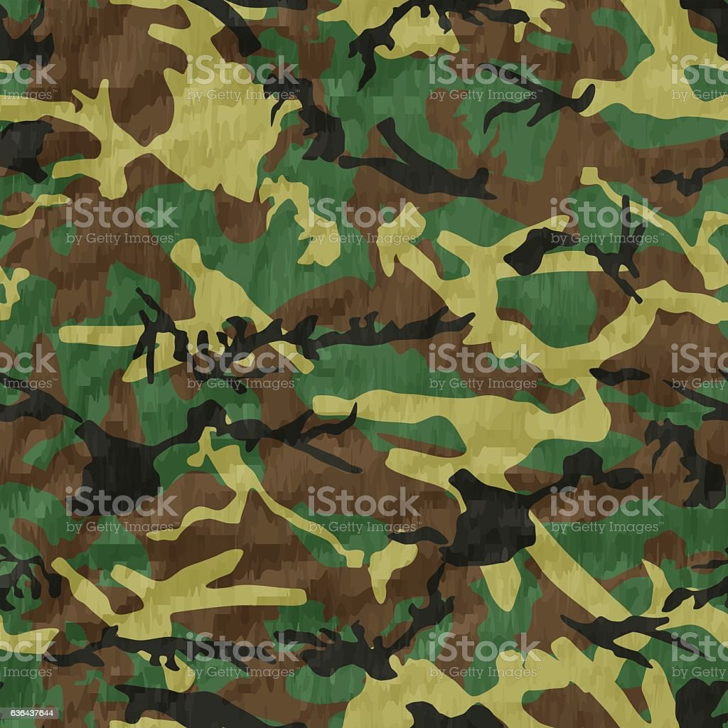 Seamless, Camouflage pattern vector vector art illustration