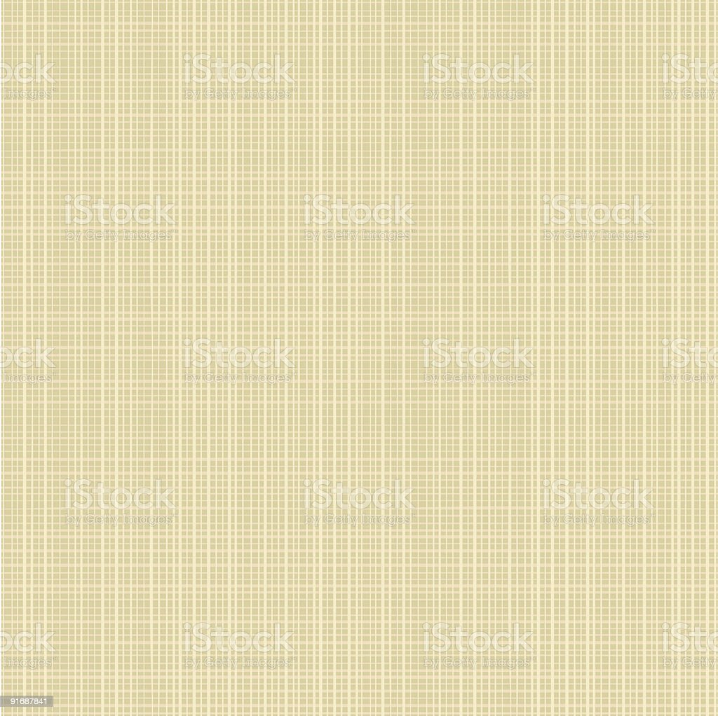 Seamless canvas textured background royalty-free stock vector art