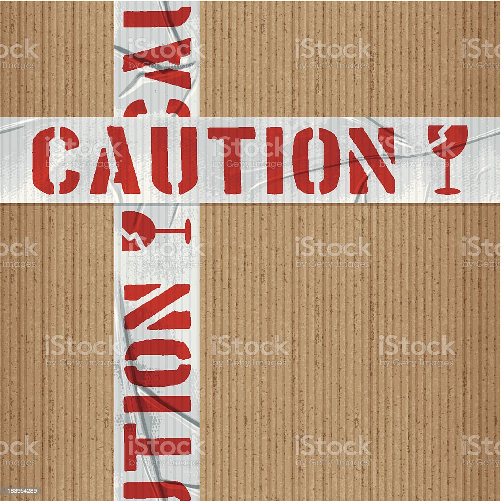 seamless caution tape tile royalty-free stock vector art