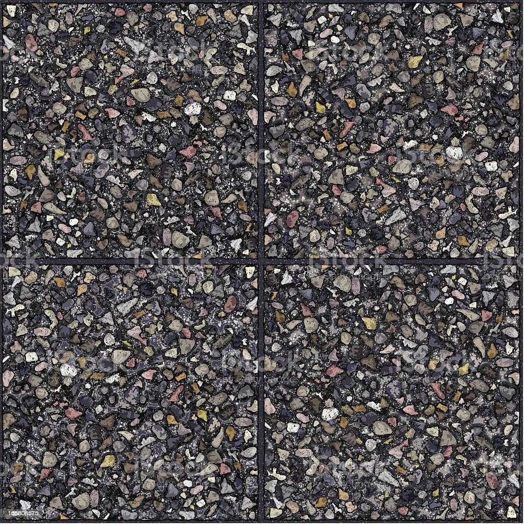 seamless cement gravel tiles background vector art illustration