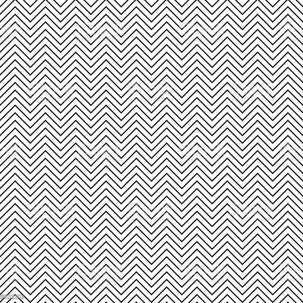 Seamless chevron pattern vector art illustration