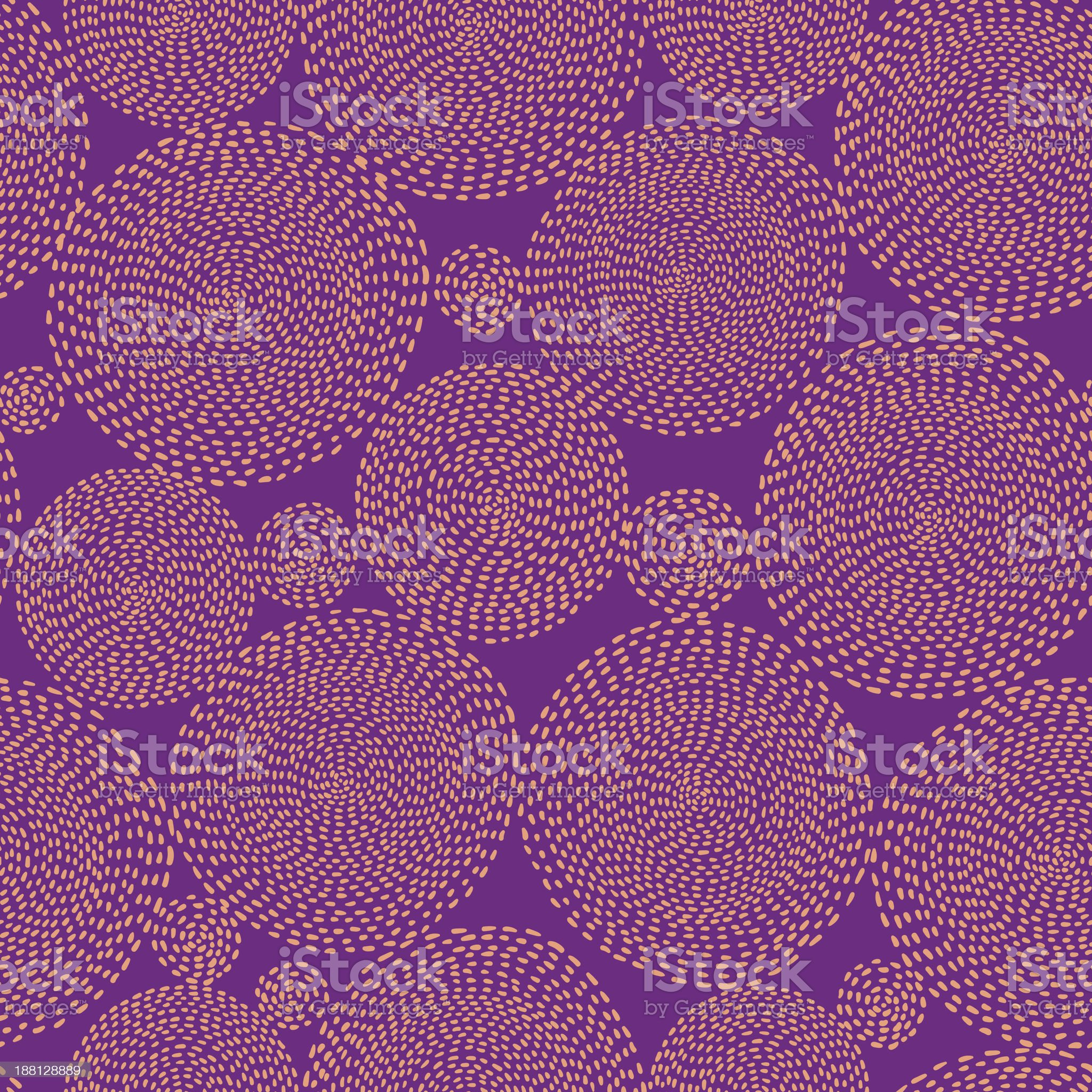 Seamless circle background royalty-free stock vector art