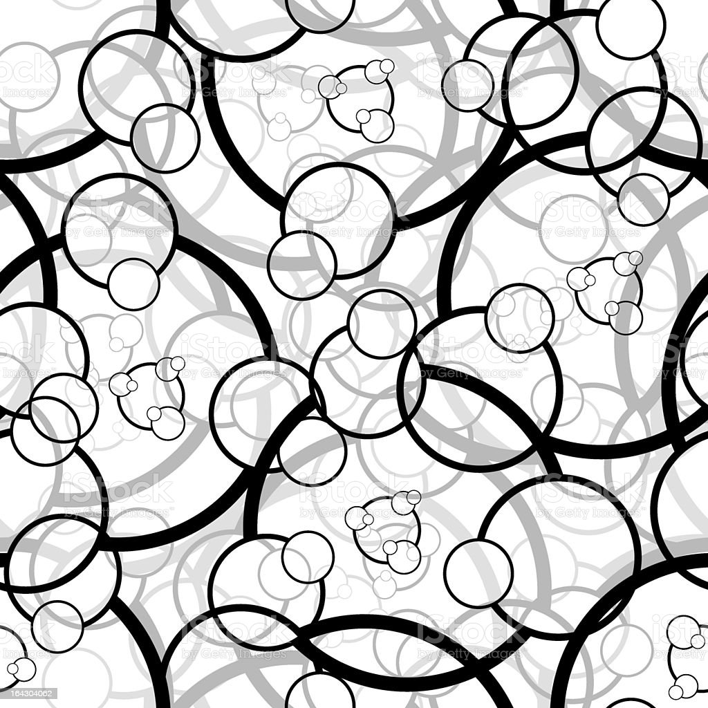 Seamless circle pattern royalty-free stock vector art