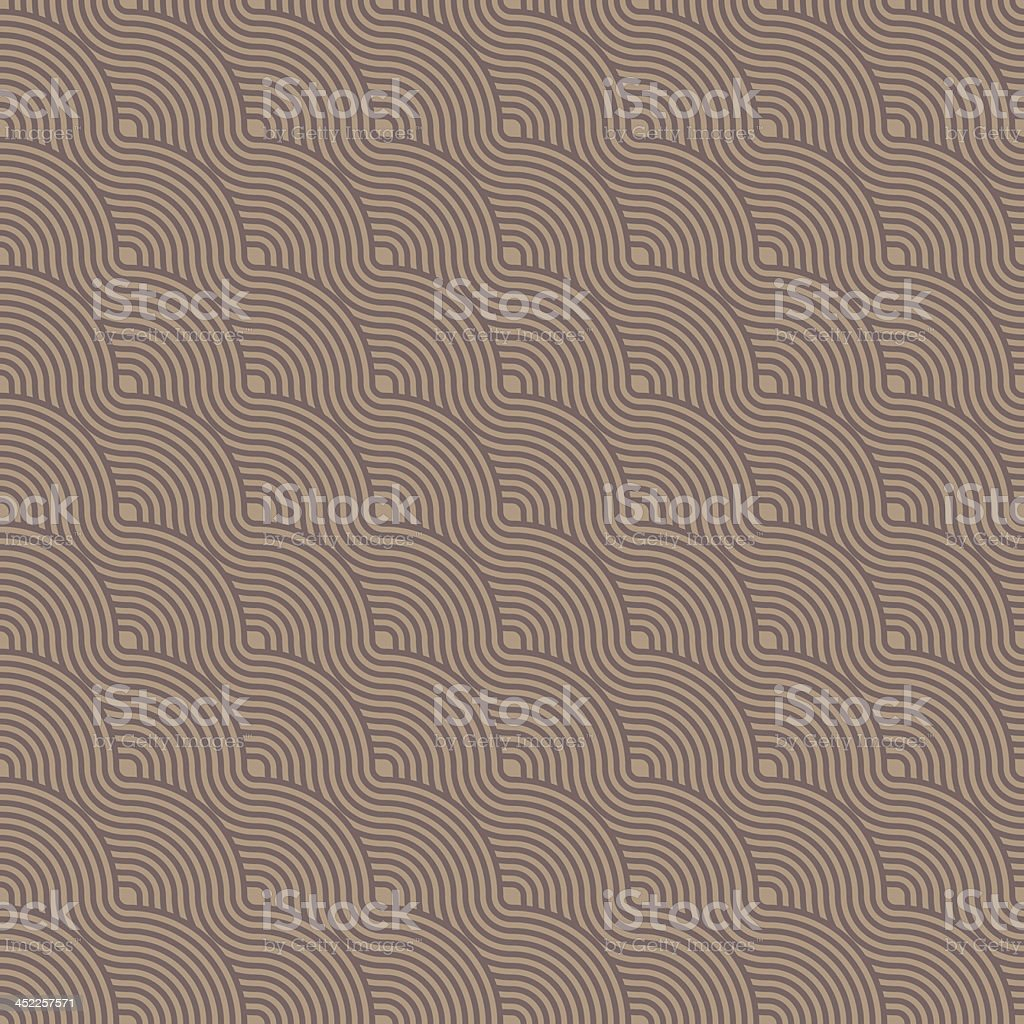 seamless circles pattern brown royalty-free stock vector art