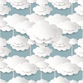 Seamless Cloudy Background