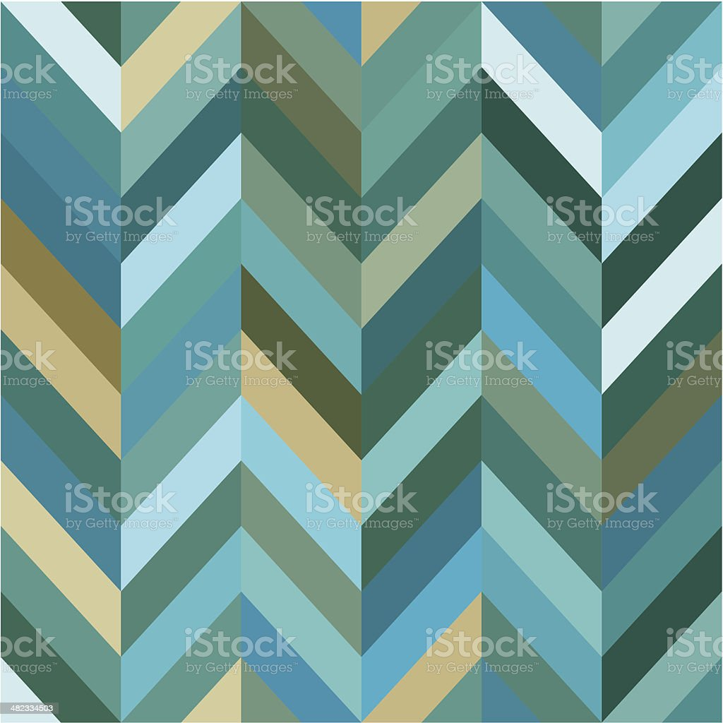 Seamless Color Abstract Zigzag Vector Background vector art illustration