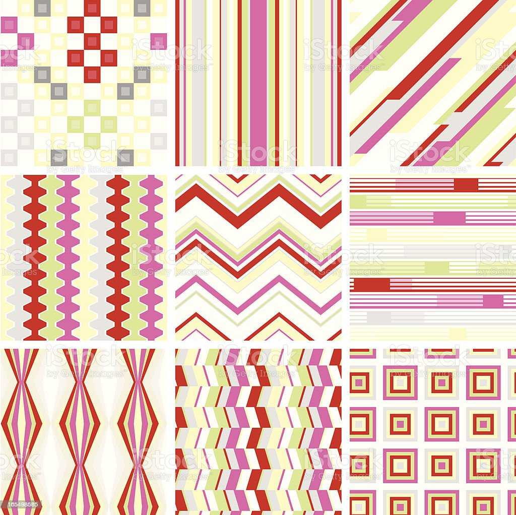 seamless colorful pattern royalty-free stock vector art